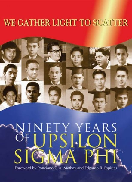 We gather light to scatter: Ninety years of Upsilon Sigma Phi